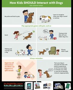 children dogs